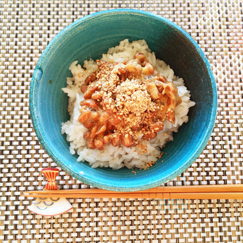 Super Healthy Japanese Food Natto Washoku Lovers