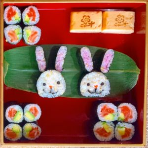 easter sushi