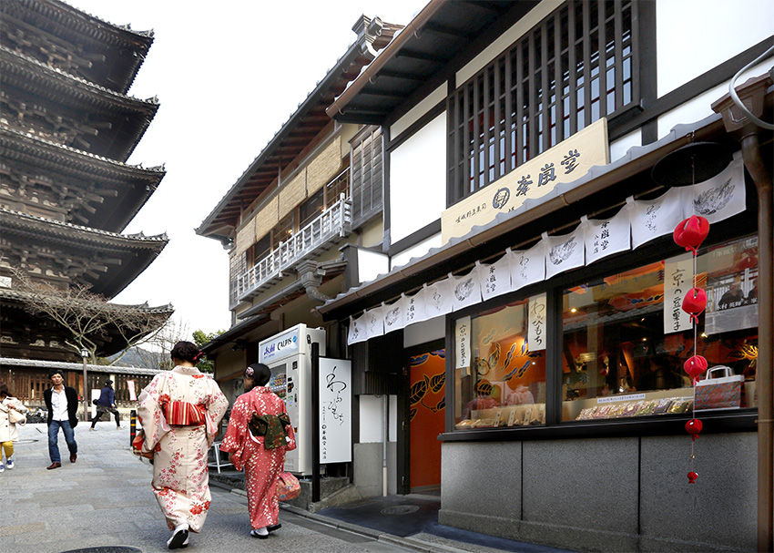 warabimochi, kyoto restuarant, washoku