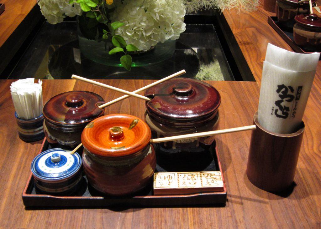 katsukura, washoku, Japanese food, kyoto restaurant, Japanese art, ki-yan's kyoto food & art, katsukura sauces