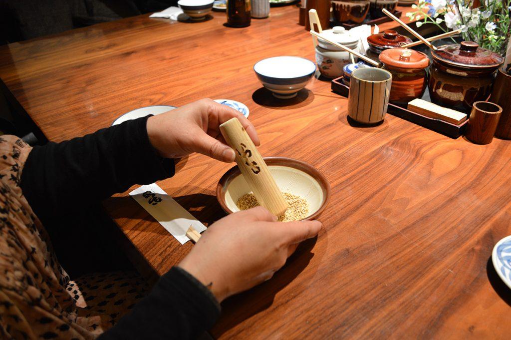 katsukura, kyoto restaurant, washoku, ki-yan's kyoto food & art, Japanese food, japanese art, tare sauce,