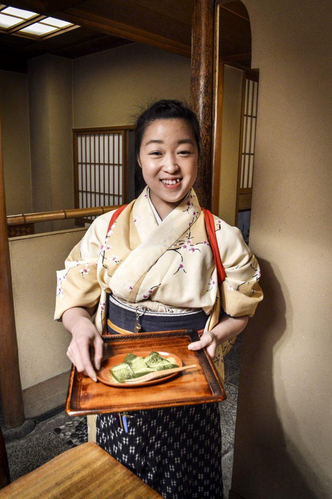 washoku, Gontaro, Kyoto restaurant, Japanese food, warabimochi, Ki-Yan's Kyoto