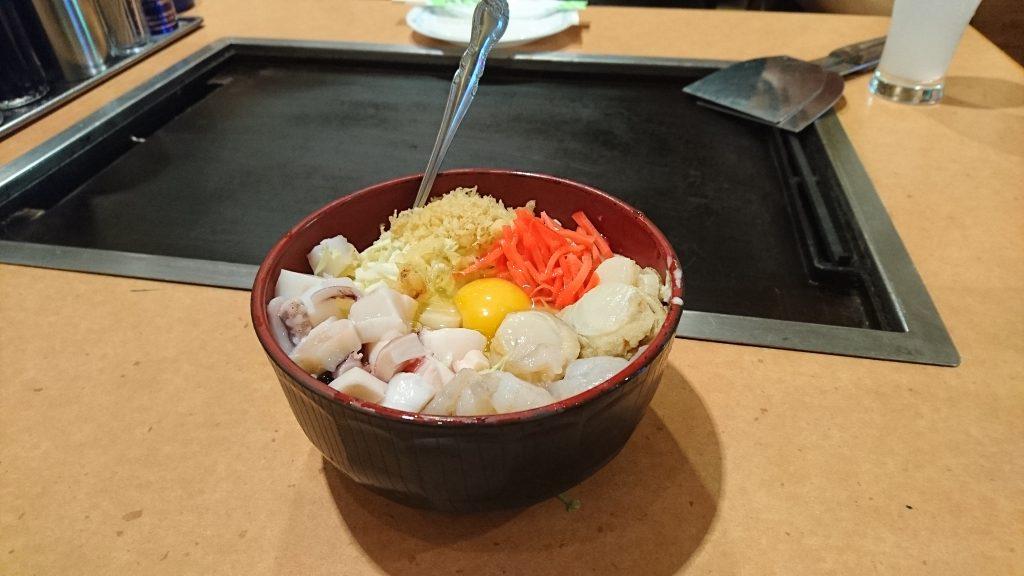 shinjuku seafood okonomiyaki