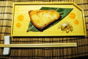 Grilled Gindara Black cod Saikyo